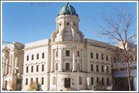 The Law Courts, Winnipeg (photo E. Haluschak)